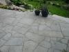 Granitbruchplatten grau für Terasse
