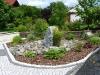 Steingarten und Pflanzbeet in Münnerstadt