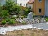 Granitpflaster hellgrau / dunkelgrau